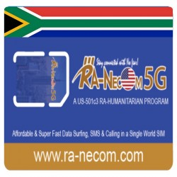 Ra-necom 5G South Africa Sim Card