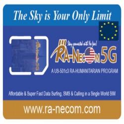 Ra-Necom 5G Europe Sim Card